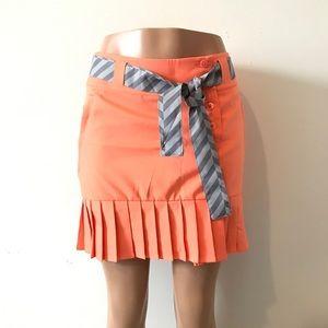 NIKE Dri Fit Golf Pleated Tennis Skirt